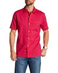 Tommy Bahama - Monaco Tides Short Sleeve Classic Fit Shirt - Lyst