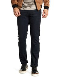 "William Rast | Dean Slim Straight Twill Pants - 32"" Inseam | Lyst"