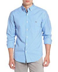 Vineyard Vines - Seafloor Tucker Gingham Sport Shirt - Lyst