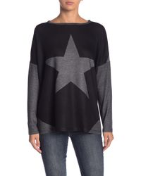 Go Couture - Elbow Patch Pullover Sweater - Lyst