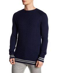Parke & Ronen - Striped Racer Sweater - Lyst