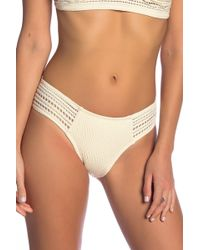 Robin Piccone - Perla Crochet Bikini Bottoms - Lyst