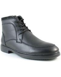 Santana Canada - Fugati Waterproof Leather Faux Fur Lined Boot - Lyst