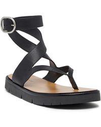 AllSaints - Montana Ankle Buckle Sandal - Lyst