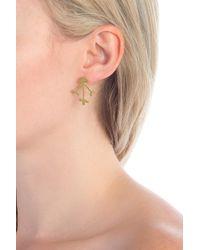 Madewell - Flower Jacket Earrings - Lyst