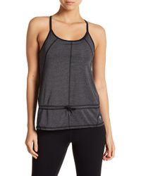 HPE - Two In One Sports Bra Top - Lyst