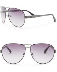 Guess - 67mm Aviator Sunglasses - Lyst