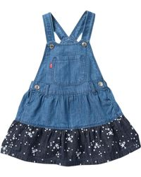 Levi's - Laney Denim Jumper (baby Girls) - Lyst