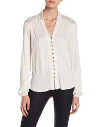 Lucky Brand | Textured Button Shirt | Lyst