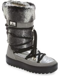 Jog Dog - Faux Fur Quilted Boot - Lyst