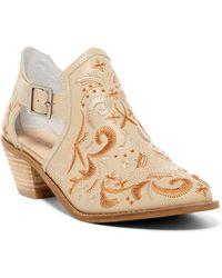 Kelsi Dagger Brooklyn - Kline Embroidered Ankle Bootie - Lyst