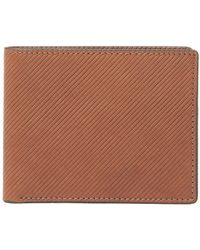 Fossil - Niles Leather Wallet - Lyst