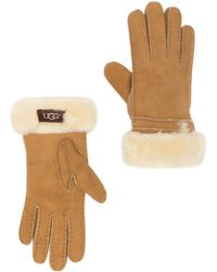 UGG - Genuine Dyed Shearling Bronte Gloves - Lyst