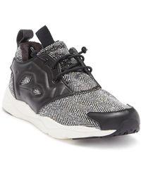 08b6bab35eb0 Lyst - Reebok Furylite New Woven Sneaker (men) in White
