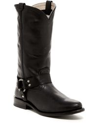 Frye - Jenna Belted Harness Boots - Lyst