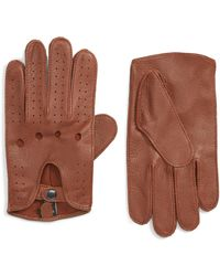 Nordstrom - Leather Driving Glove - Lyst