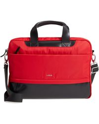 Lodis - Alexus Nylon & Leather Briefcase - Lyst