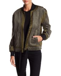 Fate - Contrast Bomber Jacket - Lyst