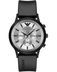 Emporio Armani - Men's Chronograph Quartz Watch, 42mm - Lyst