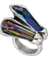 Uno De 50 - Meteor Swarovski Crystal Ring - Lyst
