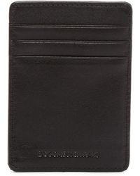 Bosca - Deluxe Front Pocket Wallet - Lyst
