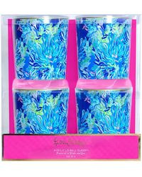 Lilly Pulitzer - Set Of 4 Lowball Glasses - Lyst