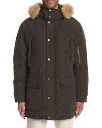 Pendleton - Denver Coat W/ Genuine Coyote Fur Trimmed Hoodie - Lyst