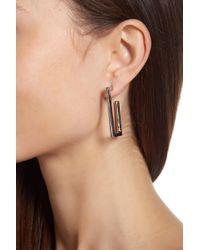 Vince Camuto - Angular 38mm Hoop Earrings - Lyst