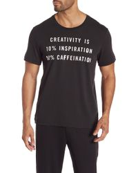 Kenneth Cole - Short Sleeve Graphic Tee - Lyst
