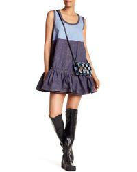 Marc Jacobs - Ruffle Denim Dress - Lyst