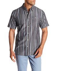Ezekiel - Winger Short Sleeve Woven Regular Fit Shirt - Lyst