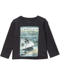 Hurley - Craving Long Sleeve Tee (baby Boys) - Lyst