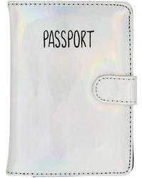 MIAMICA - Iridescent Passport Case - Lyst