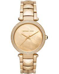 Michael Kors - Women's Parker Bracelet Watch, 39mm - Lyst