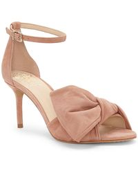 Vince Camuto - Nestey Suede Ankle Strap Sandal - Lyst