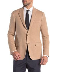 Hickey Freeman - Textured Classic Fit Camel Hair Sportcoat - Lyst