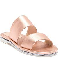 Shellys London - Davan Slide Leather Sandal - Lyst