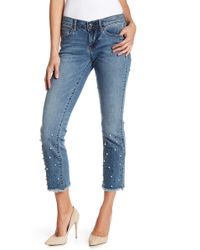 Nicole Miller - Mulberry High Waisted Skinny Jeans - Lyst