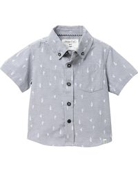 Sovereign Code - Crystal Cove Button Down Top (baby Boys) - Lyst