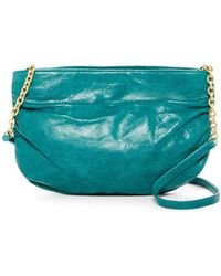 Hobo   Belle Ruched Leather Crossbody Bag   Lyst