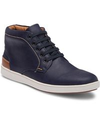 Steve Madden - Groom High-top Leather Sneaker - Lyst