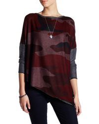 Go Couture - Wide Neck Asymmetrical Sweater - Lyst