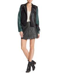 Muubaa - Impala Leather Skirt - Lyst