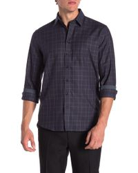 Tocco Toscano - Checkered Regular Fit Shirt - Lyst