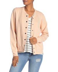 Madewell - Solid Bomber Sweatshirt - Lyst