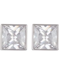 Cole Haan - Square Cz Stud Earrings - Lyst