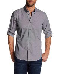 Robert Graham - Slim Fit Mini Checker Dress Shirt - Lyst