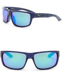 PUMA - 59mm Rectangle Sunglasses - Lyst