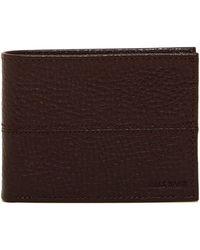 Cole Haan - Pebble Leather Slim Billfold Wallet - Lyst