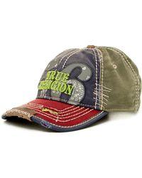 True Religion - 'bandana' Baseball Cap - Lyst